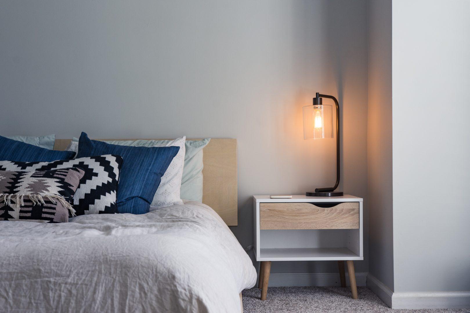 slaapkamer tapijt met warmup vloerverwarming