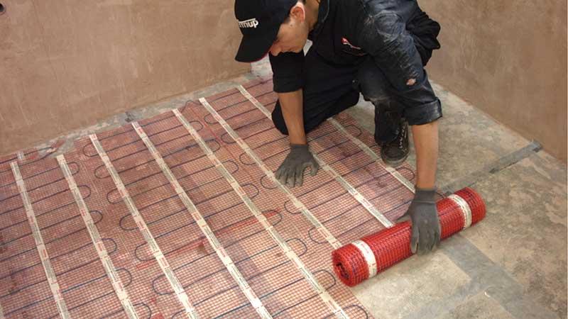 Tegels Laten Leggen : Vloerverwarming tegels en stenen warmup nederland