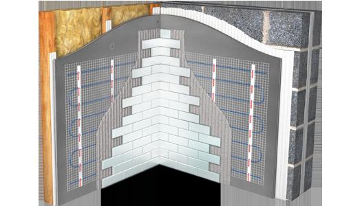 Elektrische Wandverwarming Badkamer : Elektrische muurverwarmers badkamerwandverwarming warmup