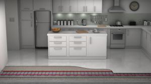 Koop een compleet vloerverwarmingssysteem voor uw keuken