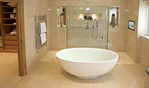 vloerverwarming-badkamer- handdoekverwarming
