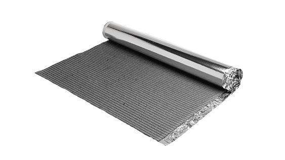 vloerverwarming geisoleerde ondervloer