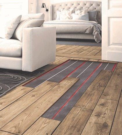 Fonkelnieuw Vloerverwarming houten vloer | Warmup Nederland OO-74